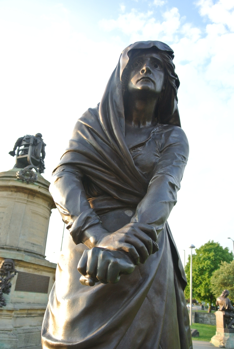 Shakespeare Statues, Stratford upon Avon. Study Work Travel Blog
