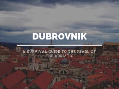 Study Work Travel Blog explores Dubrovnik