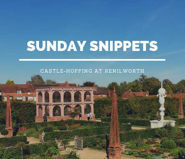 Kenilworth castle with study work travel blog