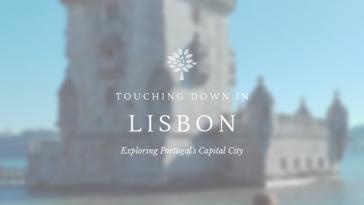Study Work Travel blog lisbon