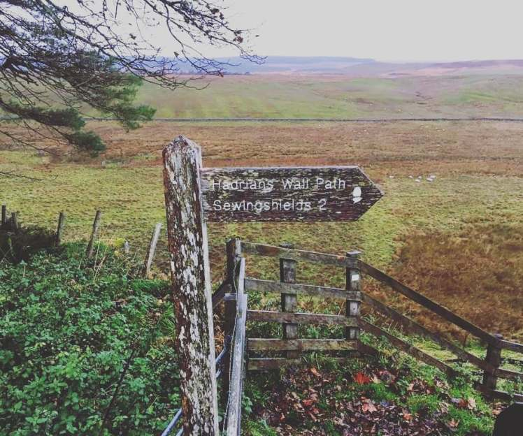 Wanderin Hadrian's Wall with Study Work Travel Blog
