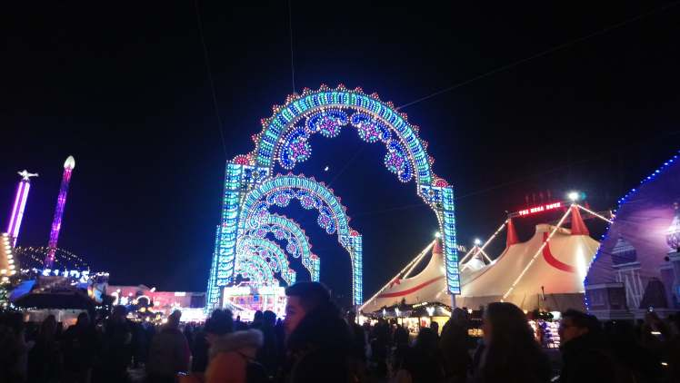 In Search of Christmas: Hyde Park's Winter Wonderland and London Sky Garden