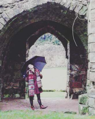 Arches at Croxdon Abbey with Study Work Travel Blog