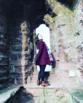 Exploring Goodrich Castle with Study Work Travel Blog