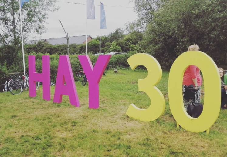 Hay festival 2018 with study work travel blog