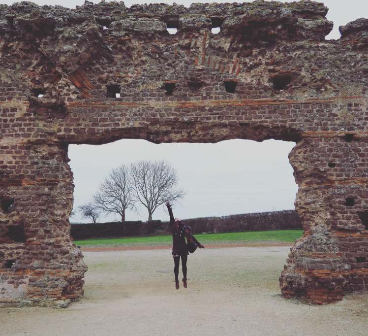 Wroxeter Roman City, Shrewsbur with Study Work Travel blog