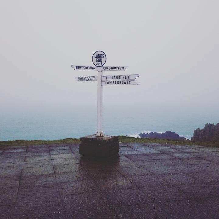 Lands End with study work travel blog