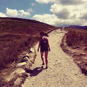 Climbing Snowdon with study work travel blog