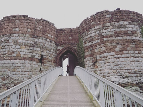 Study Work Travel Blog explores Beeston Castle
