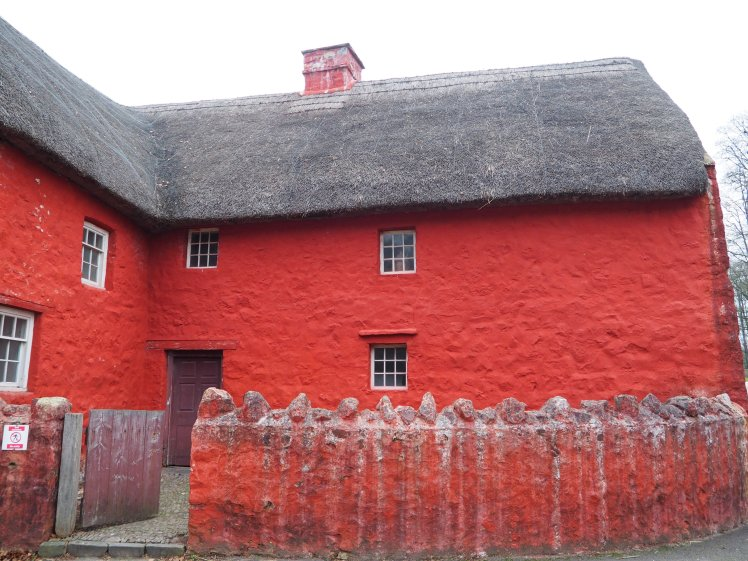 The red house, St Fagans, Wales