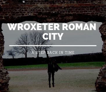 Wroxeter Roman City, Shrewsbury with Study Work Travel blog