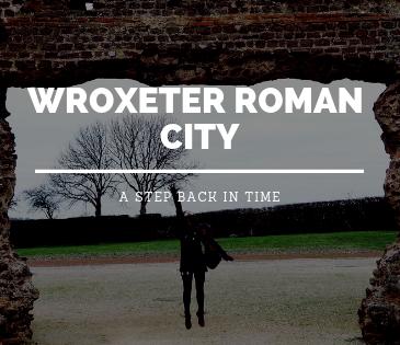 Wroxeter Roman City, Shrewsbury with Study Work Travel blog