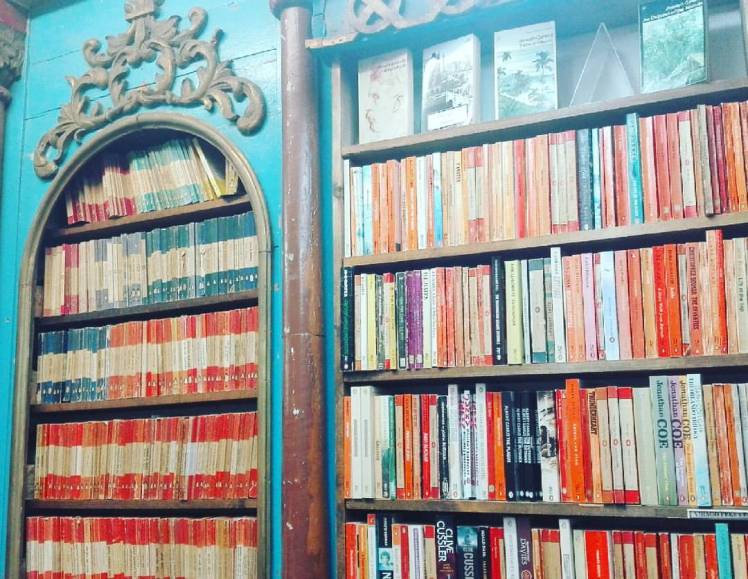 Hay on Wye book shop Study | Work | Travel | Blog