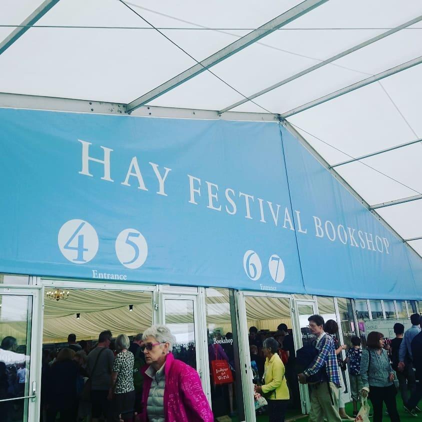 Hay on Wye Festival Tent