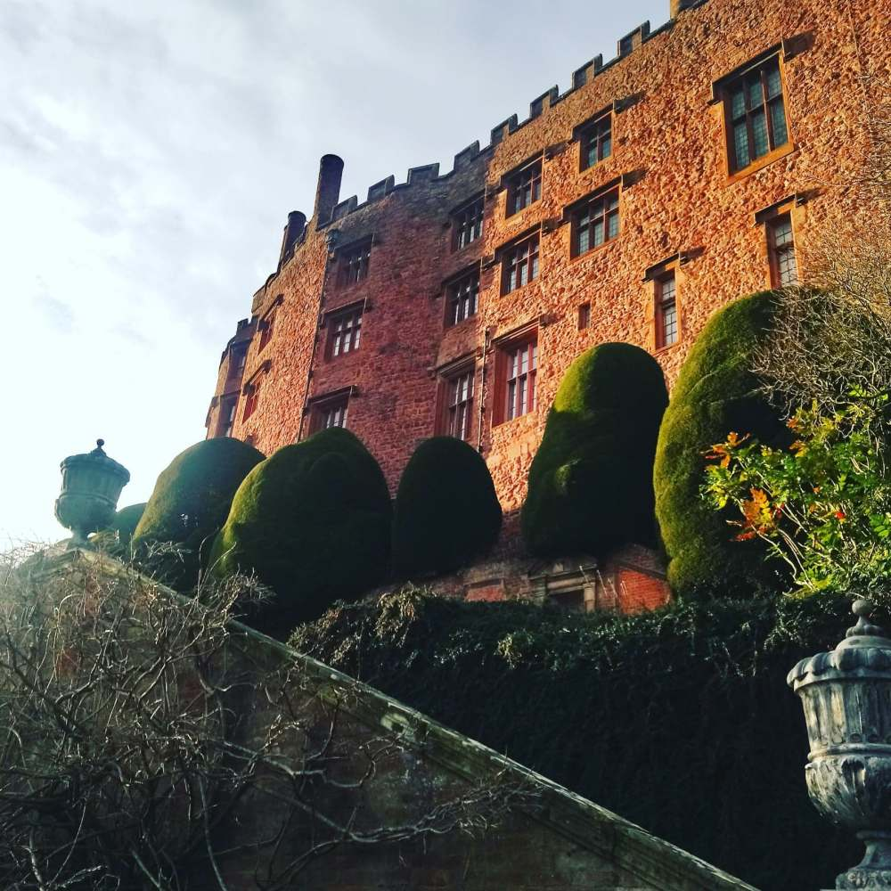 A side view of Powis Castle | Study Work Travel Blog