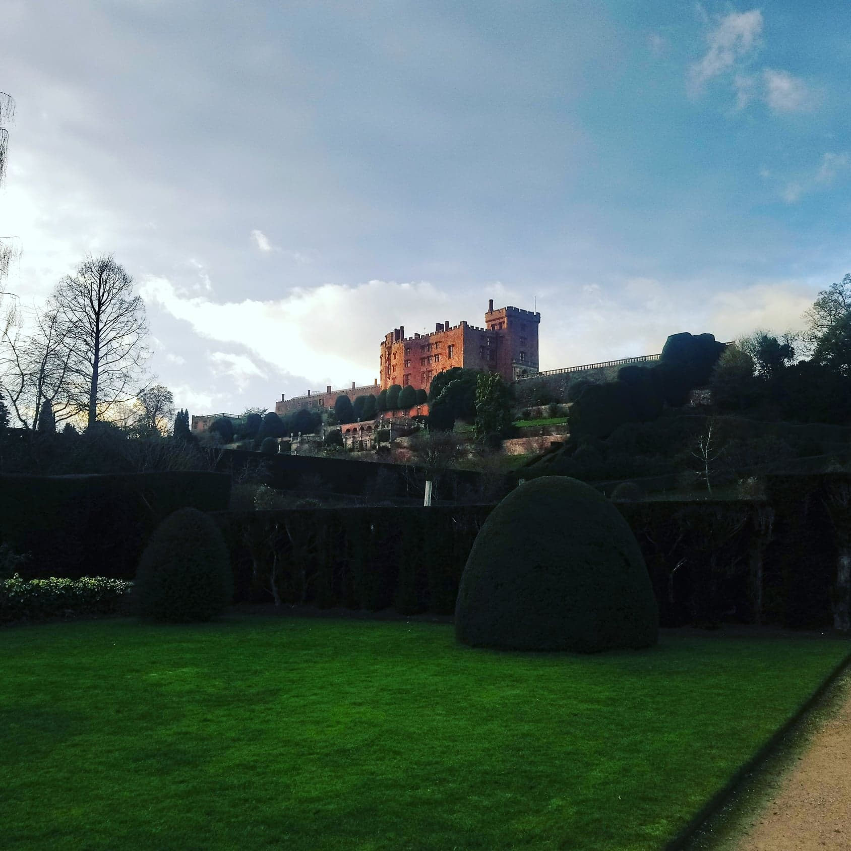A view from the garden at Powis Castle | Study Work Travel Blog