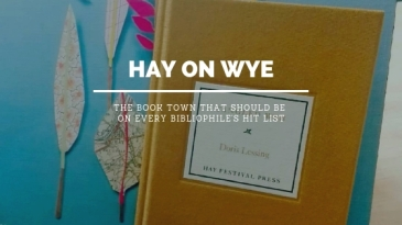 Hay on Wye book town blog header