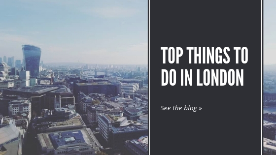 Top things to do in London blog banner link