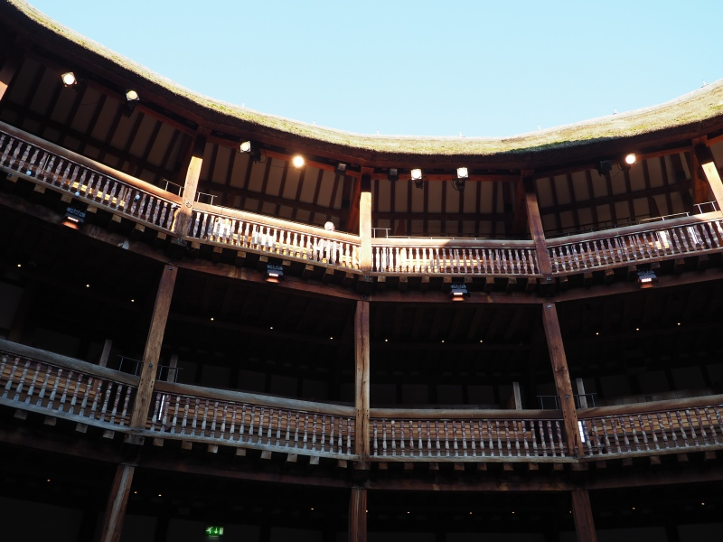Shakespeare's Globe South Bank London. Study Work Travel Blog
