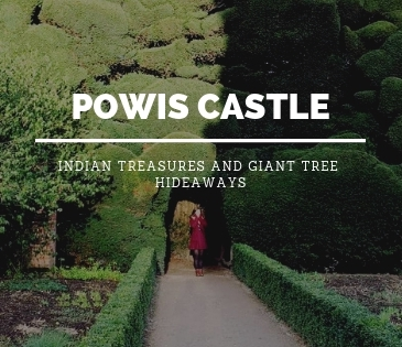 Powis Castle Blog Header with Study Work Travel blog