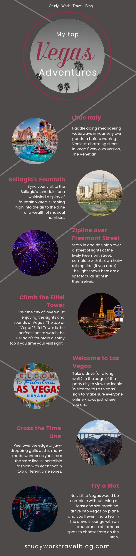 Top Vegas Sights. Study Work Travel Blog