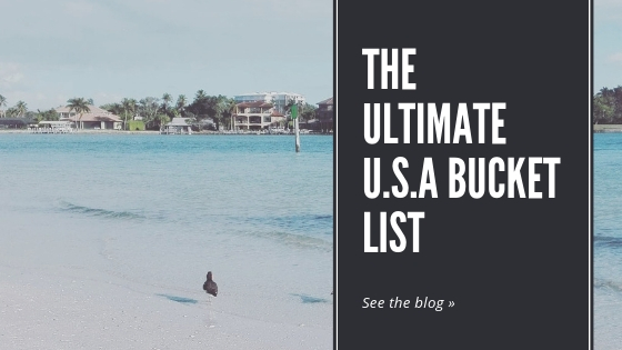 Ultimate U.S.A Bucket List