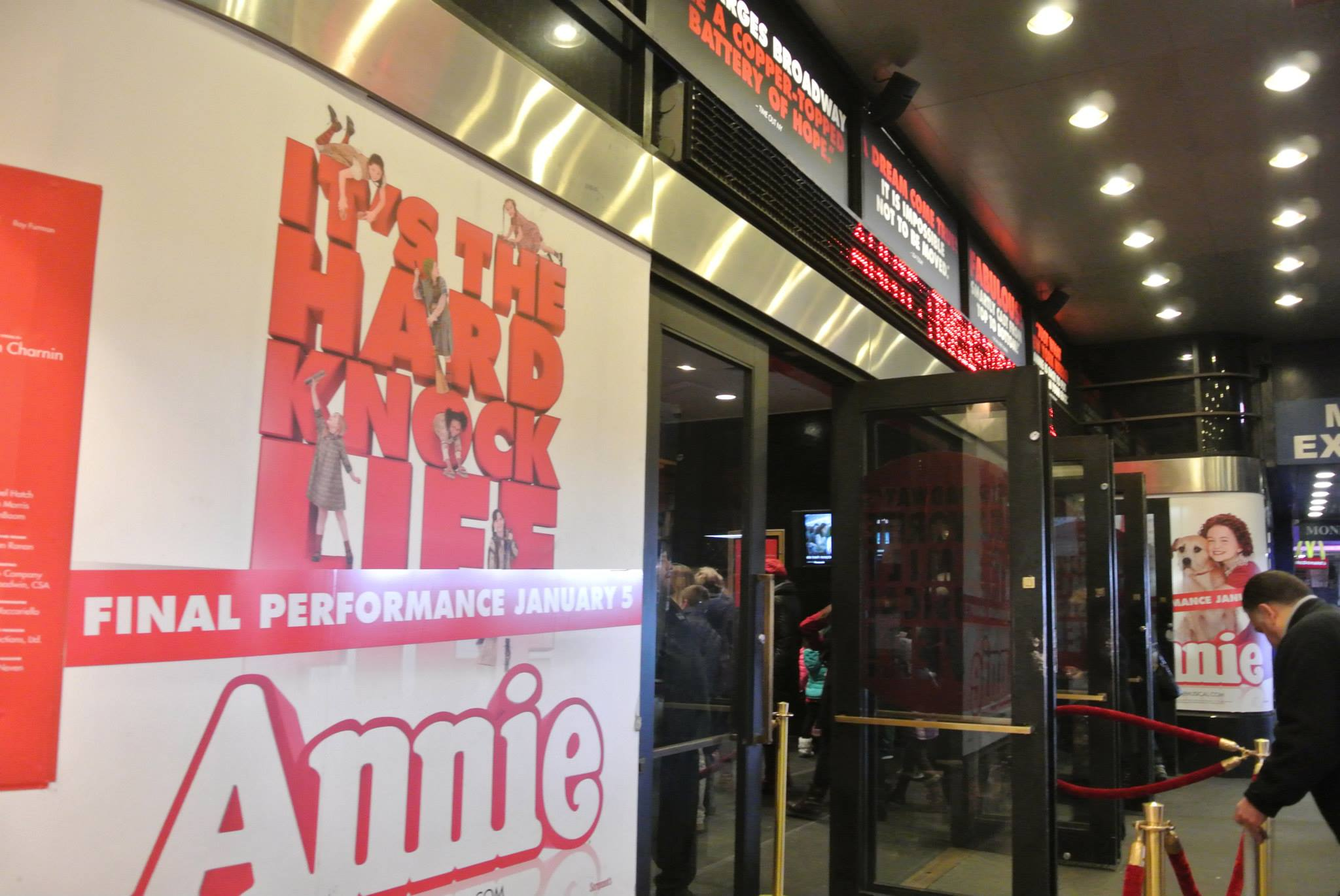Annie, Broadway. Study Work Travel Blog