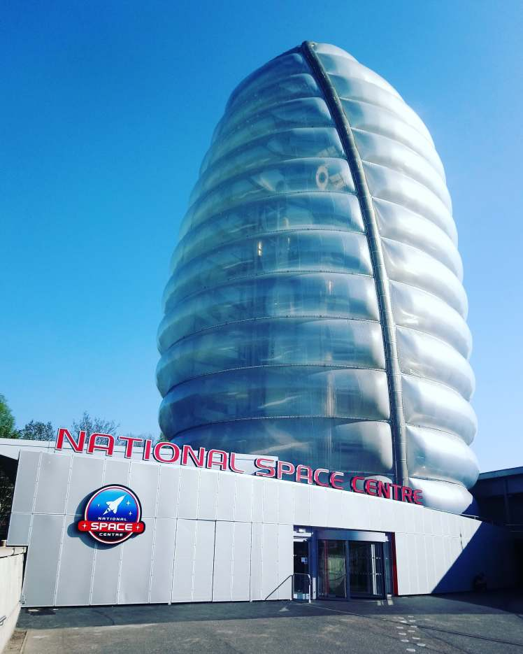 National Space Centre entrance with Study Work Travel Blog
