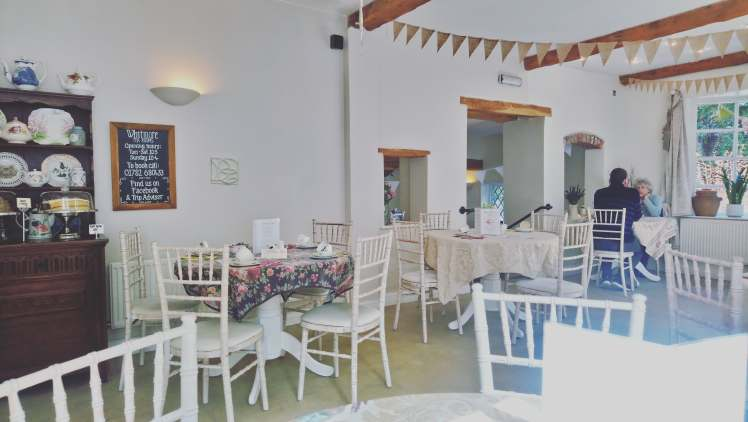 Whitmore Tea Rooms with Study Work Travel Blog