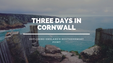Cornwall Blog header
