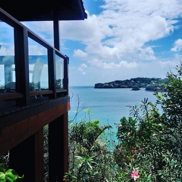 Saint Lucia ocean view with Study Work Travel Blog