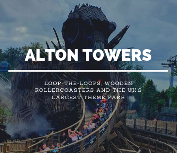 Alton Towers Wicker Man blog header