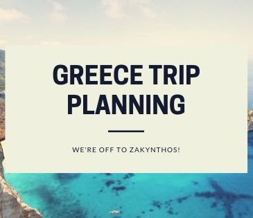 Greece trip planning blogheader