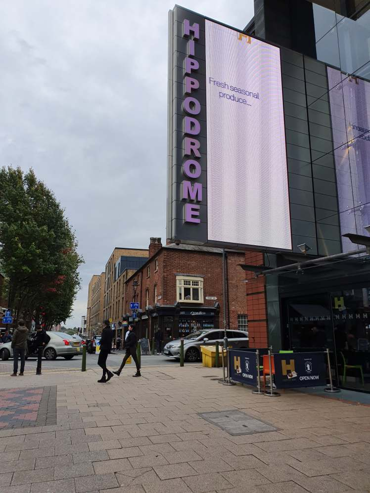Birmingham Back to Backs Hippodrome