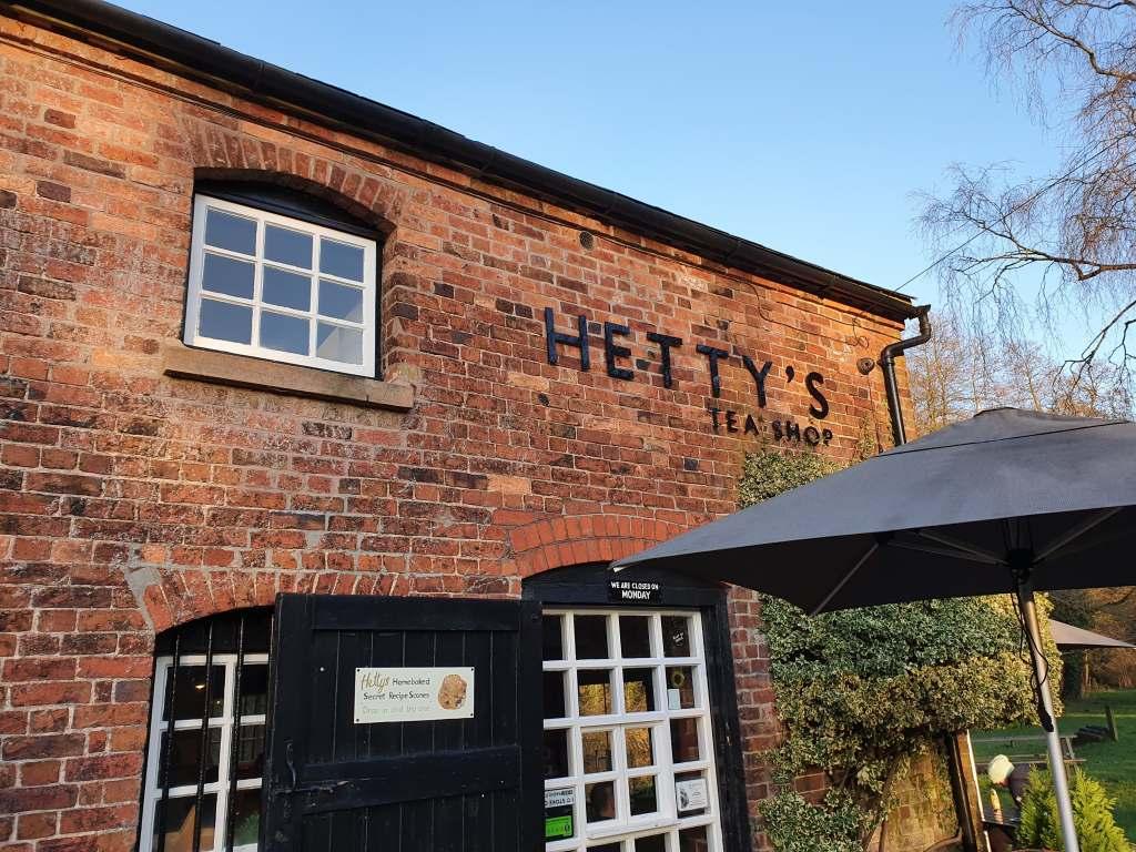 Hetty's Tea Room, Staffordshire