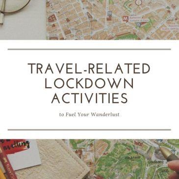 travel-realated lockdown activities header